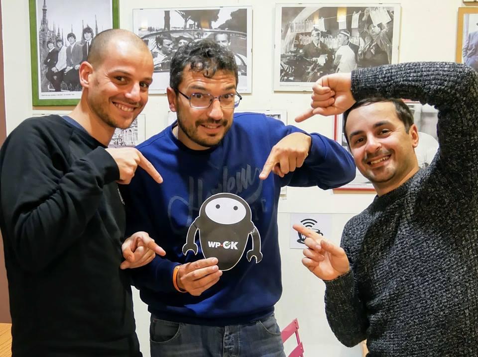 Team WP-OK a Bologna